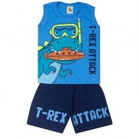 10755 conjunto infantil menino t rex azul marinho 191026