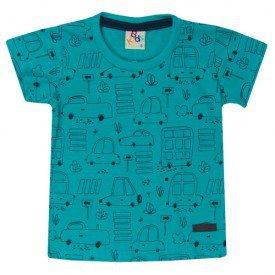 10730 camiseta bebe menino carrinhos turquesa 191001