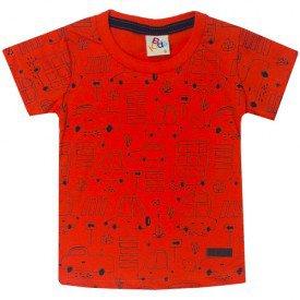 10731 camiseta bebe menino carrinhos laranja 191001