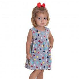 10763 vestido bebe poa mescla 191044