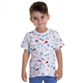 10744 camiseta infantil menino acessorios branca 191013